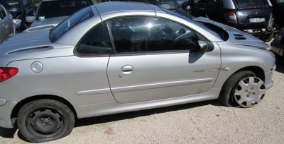 PEUGEOT 206 CABRIO INCIDENTATO ANNO 2006 KM 80000 € 2000